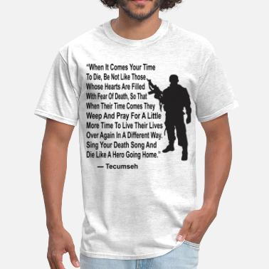 Odinism Sing Your Death Song And Die Like A Hero  © - Men's T-Shirt