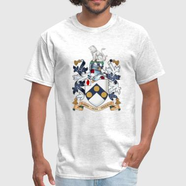 "Bonds Uk James Bonds coat-of-arms ""The world is not enough - Men's T-Shirt"