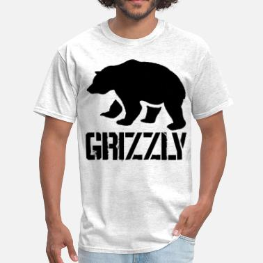 Grizzly Bear Grizzly - Men's T-Shirt