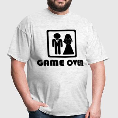 Marriage … Game over (1) - Men's T-Shirt