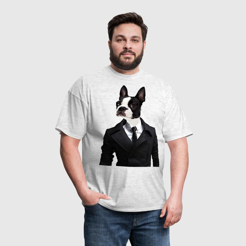 Savvy Boston Terrier - Men's T-Shirt