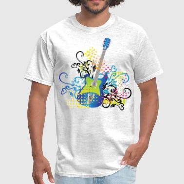 Guitar Illustration guitar - Men's T-Shirt