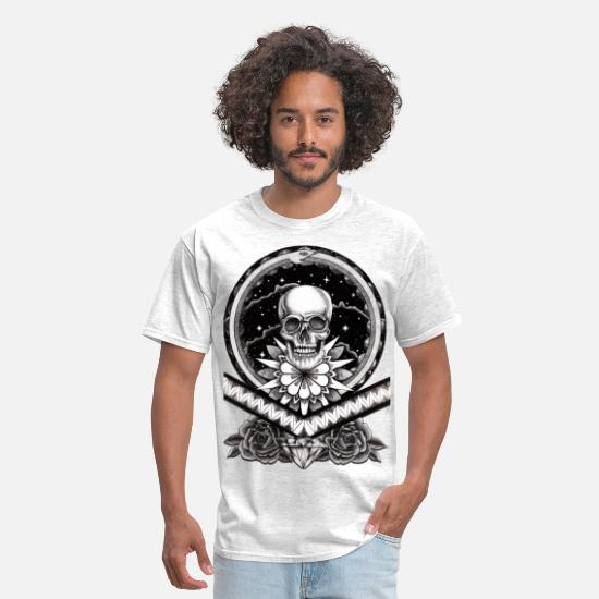 Death T-Shirts - death - Men's T-Shirt light heather grey