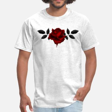 Rose roses red - Men's T-Shirt