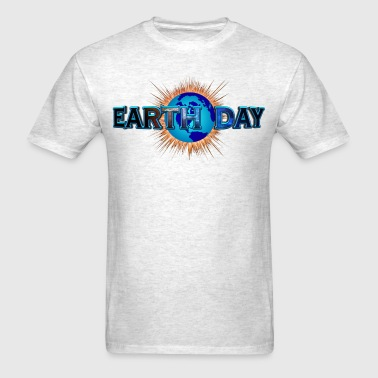 Earth Day Earth Blast - Men's T-Shirt