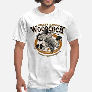 Woodcock crazy_woodcock - Men's T-Shirt
