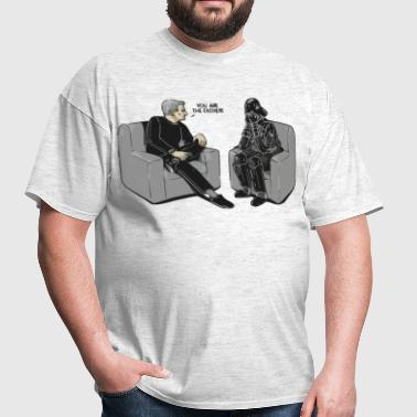 Star Wars Darth Vader you are the father parody - Men's T-Shirt