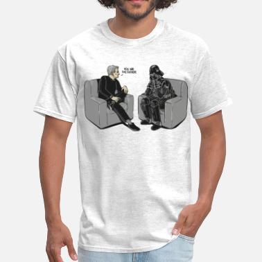 83de8293 Darth Vader Star Wars Darth Vader you are the father parody - Men'.  Men's T-Shirt