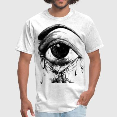 crying eye - Men's T-Shirt