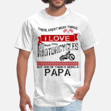 Shop This Papa Loves Motorcycles T Shirts Online Spreadshirt