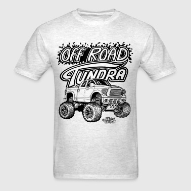 Off Road Toyota Tundra 4x4 pickup - Men's T-Shirt