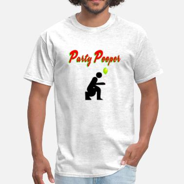 Party Poopers Party Pooper - Men's T-Shirt
