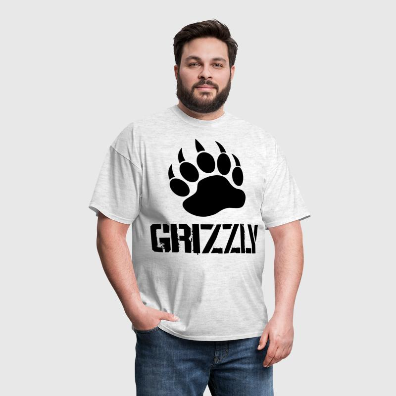 Grizzly Paw - Men's T-Shirt