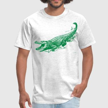 Alligator Art alligator - Men's T-Shirt