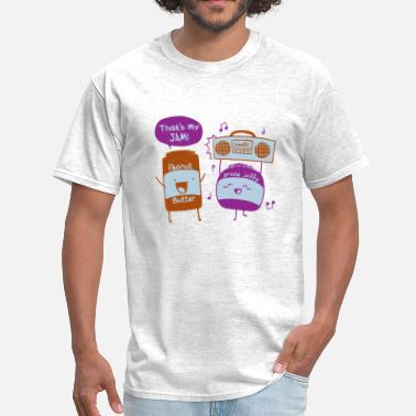 Peanut Peanut butter and jelly - Men's T-Shirt