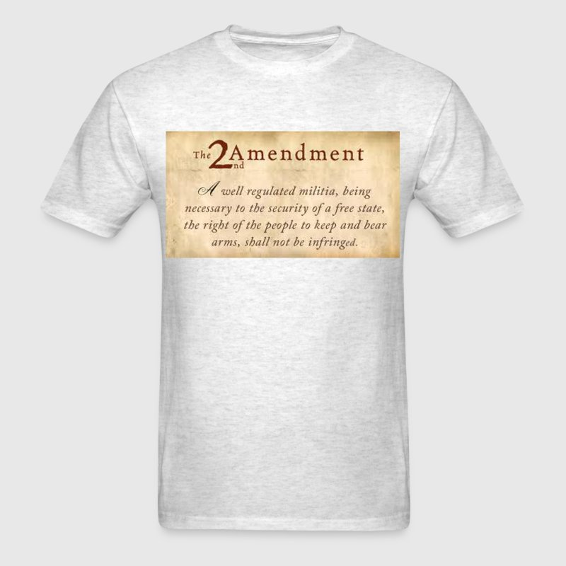 AmendmentTwo - Men's T-Shirt