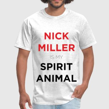 Nick Miller Is My Spirit Animal - Men's T-Shirt