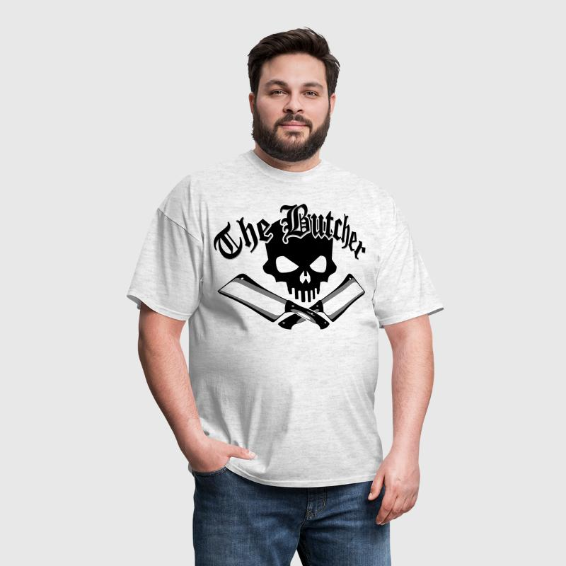 Butcher Skull and Cleavers - Men's T-Shirt