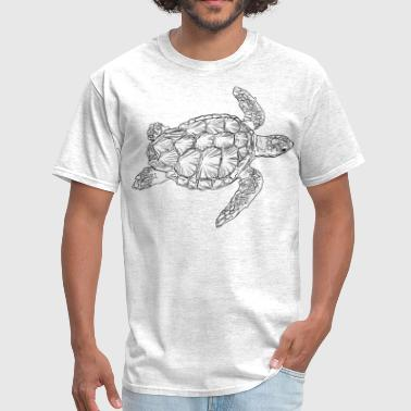 Sea Turtle Designs sea Turtle - Men's T-Shirt
