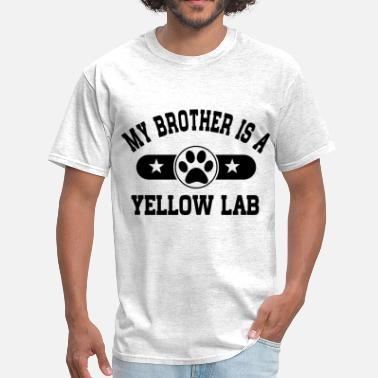 My Yellow Lab Yellow Lab Brother - Men's T-Shirt