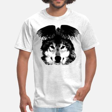 Raven Wolf raven in the wolf - Men's T-Shirt