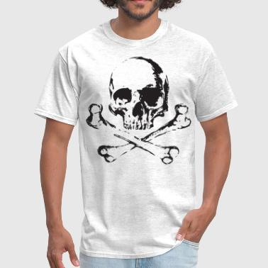 Skull Design For Skull and Bones - Men's T-Shirt
