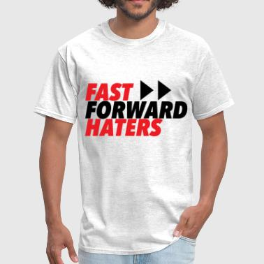 RED fast forward haters - Men's T-Shirt
