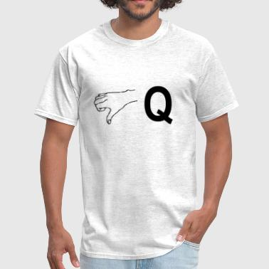 FaQ (black) - Men's T-Shirt