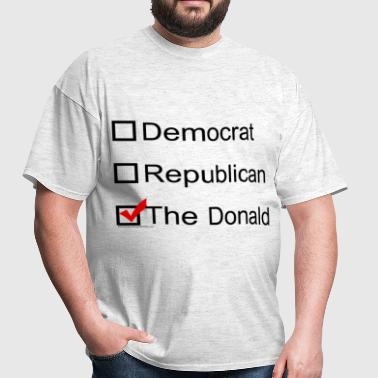 Checkbox for the Donald Trump 2016 - Men's T-Shirt