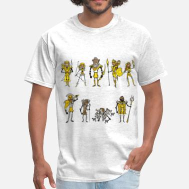 Stick-people Medieval Stick People  - Men's T-Shirt