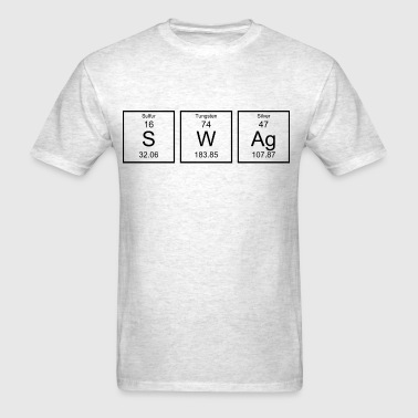 Periodic Table Swag - Men's T-Shirt