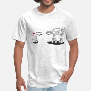 Daddy Robot - Star Wars - Men's T-Shirt