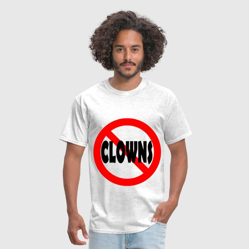 No Clowns - Persephone Productions - Men's T-Shirt