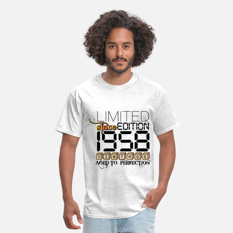 1958 T-Shirts - Limited Edition 1958 - Men's T-Shirt light heather grey
