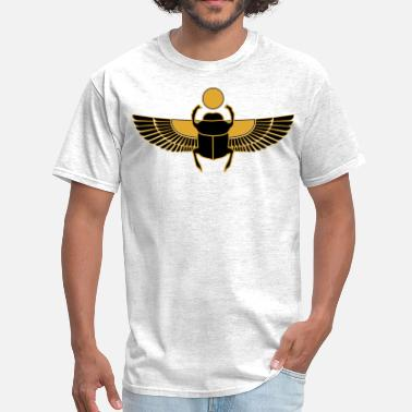 Egyptian Art egyptian beetle - Men's T-Shirt