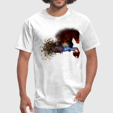 Abstract Horse - Men's T-Shirt