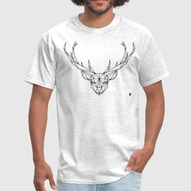 AD Geometric Deer - Men's T-Shirt