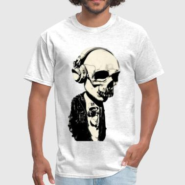 phone skull - Men's T-Shirt