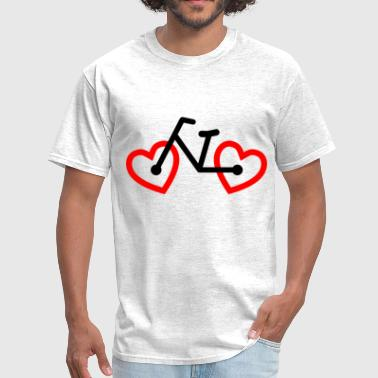 bike love - Men's T-Shirt