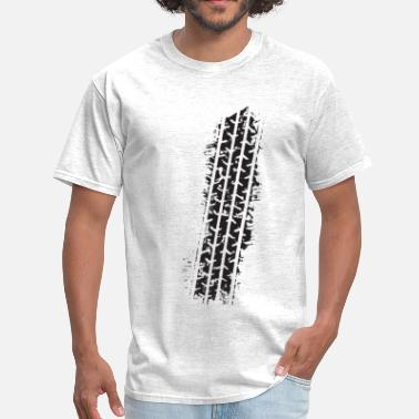 Tire Tracks Tire Track - Men's T-Shirt