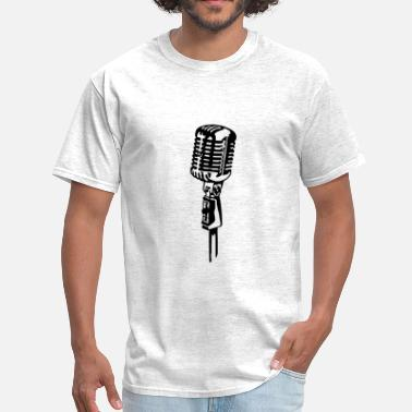 Elvis Microphone Microphone - Men's T-Shirt
