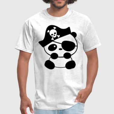 Pirate Panda - Men's T-Shirt