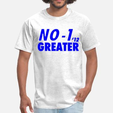 2012 Basketball Blue No 1 Greater 2012 Kentucky Basketball - Men's T-Shirt