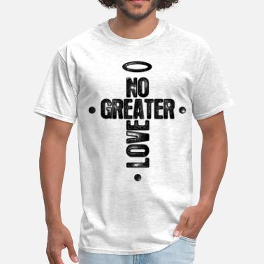 Bible No Greater Love - Men's T-Shirt