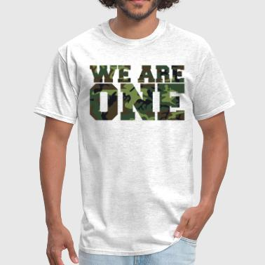 Team Motto We Are One - Men's T-Shirt