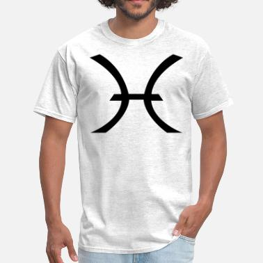 Pisces Symbol Pisces Symbol ( Vector Graphic ) - Men's T-Shirt