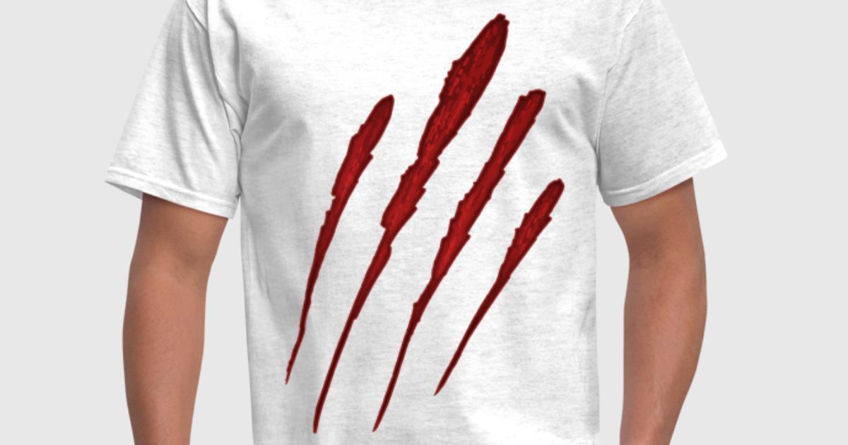 Werewolf claw marks - photo#53
