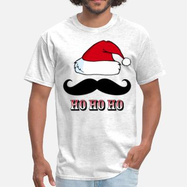 Santa Mustache Mustache Santa Red - Men's T-Shirt