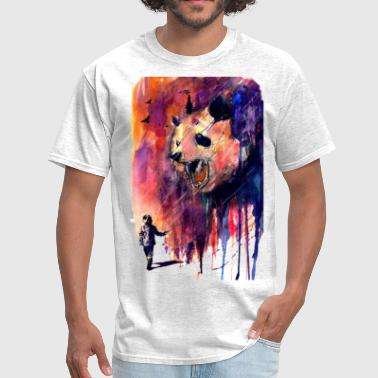 panda watercolor - Men's T-Shirt