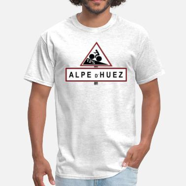 France Alpe d'Huez Sign - Men's T-Shirt